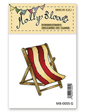 Rubber Stamp - Deck Chair