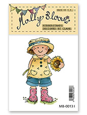 Rubber Stamp - Sunflower Molly