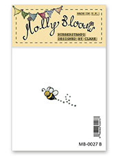Rubber Stamp - Mollys Bee