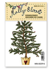 Rubber Stamp - Christmas Tree