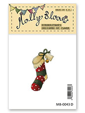 Rubber Stamp - Christmas Stocking