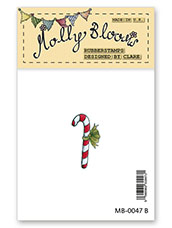 Rubber Stamp - Candy Cane