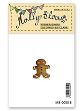 Rubber Stamp - Gingerbread Man