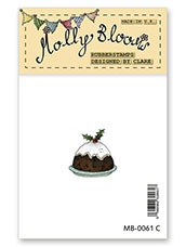 Rubber Stamp - Christmas Pudding