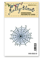 Rubber Stamp - Spiders Web