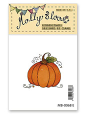 Rubber Stamp - Halloween Pumpkin