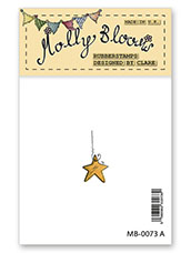 Rubber Stamp - Christmas Star