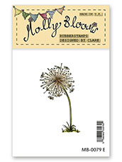 Rubber Stamp - Dandelion Clock Small