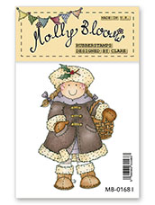 Rubber Stamp - Molly with Holly