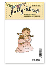 Rubber Stamp - Sweet Dreams Molly