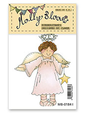 Rubber Stamp - Angelic Molly